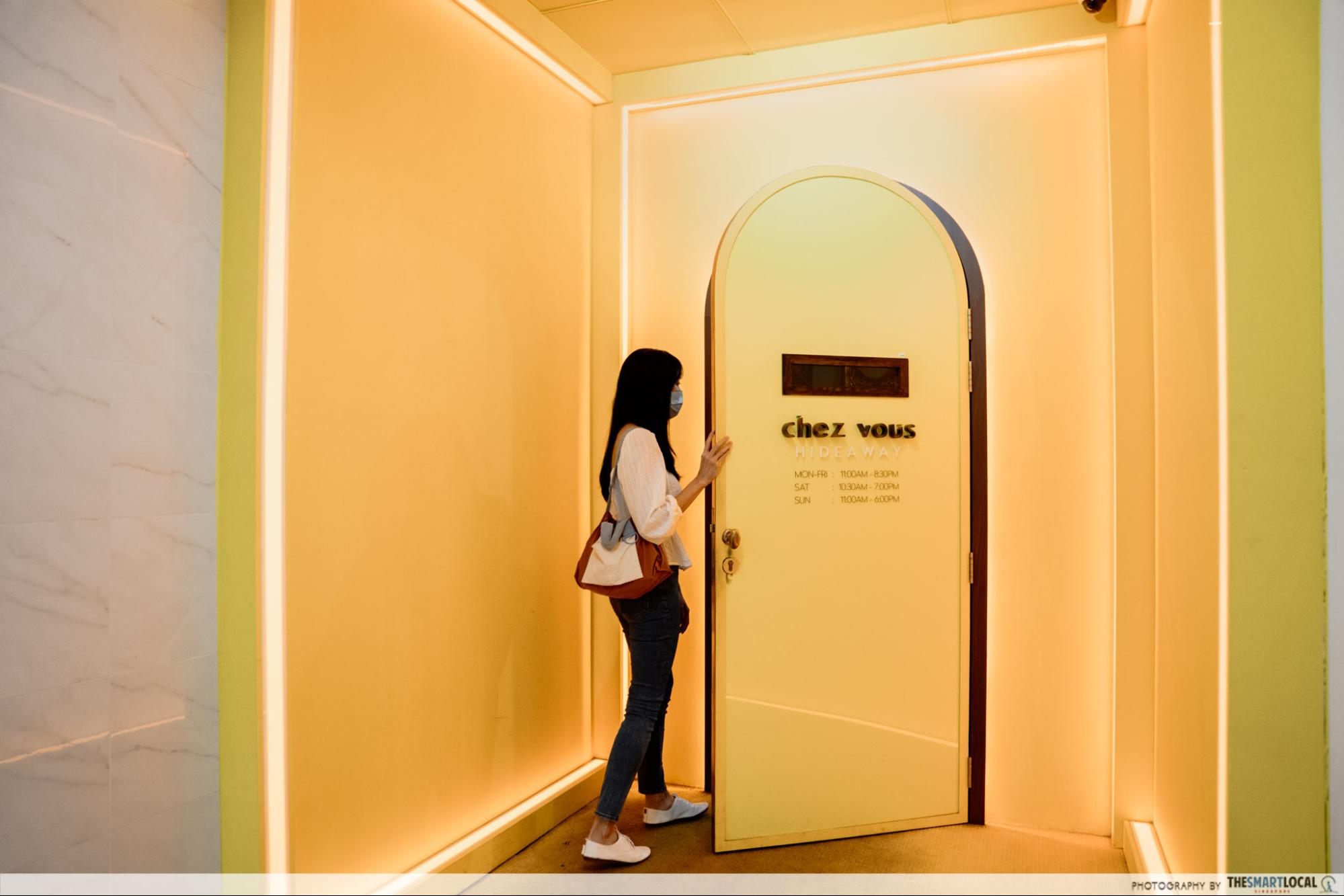Chez Vous HideAway Ngee Ann City Hair Salon With Free Spa Perks