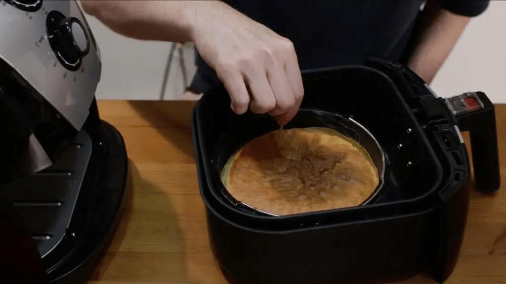 air fryer hacks - baking pan
