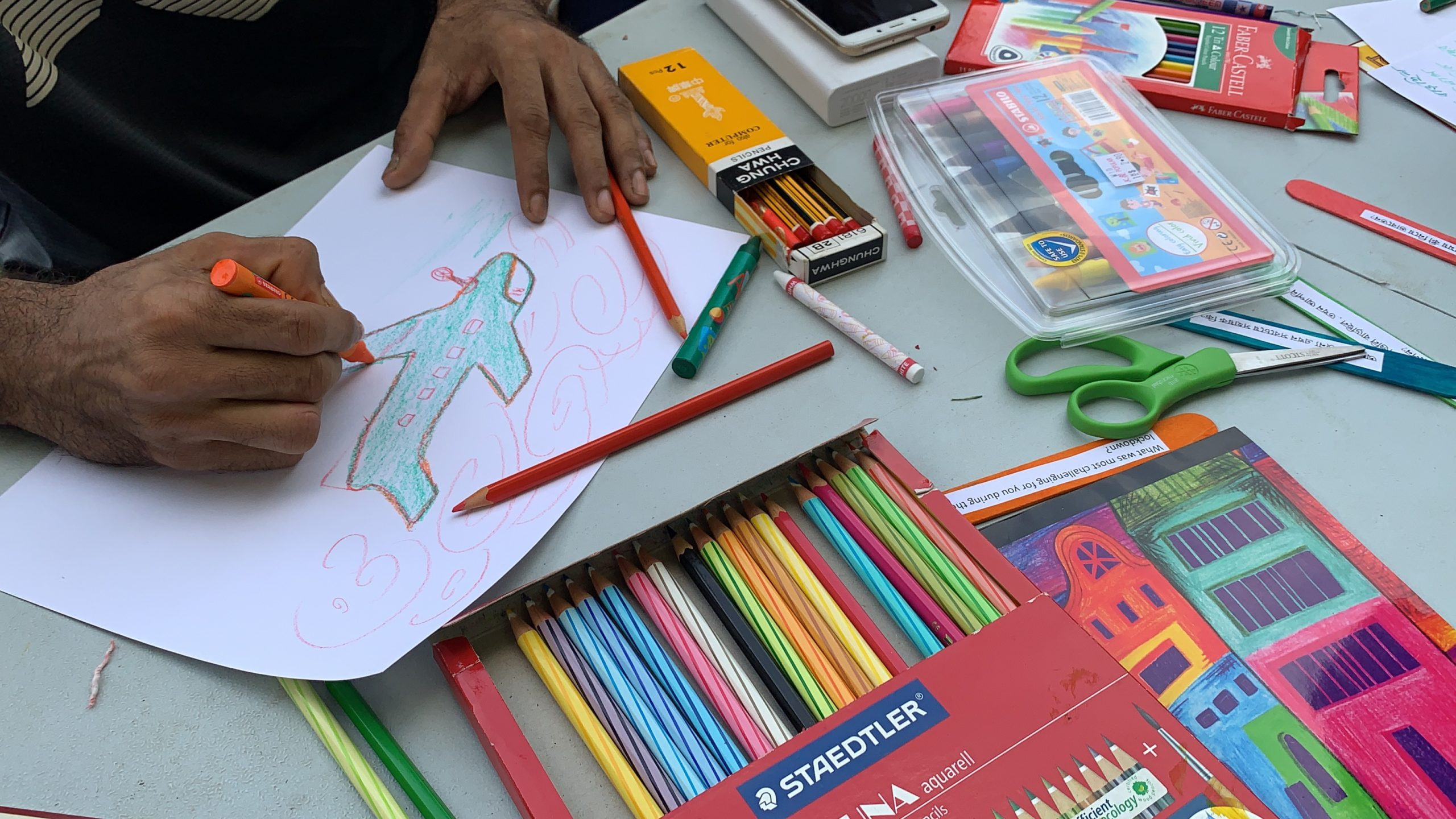Art Engagement for migrant workers