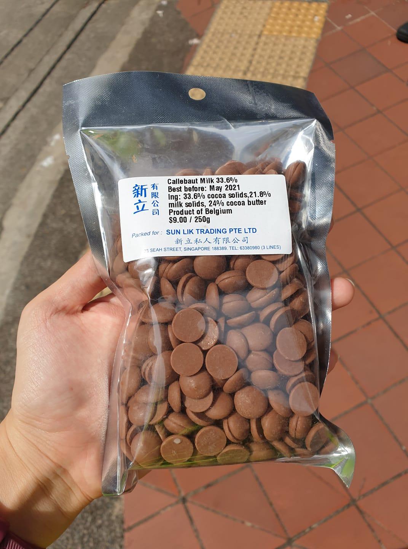 Sun Lik Trading Callebaut chocolate Singapore