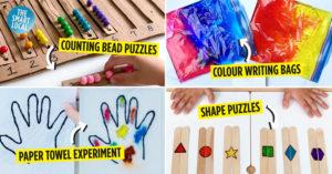 DIY home activities for kids