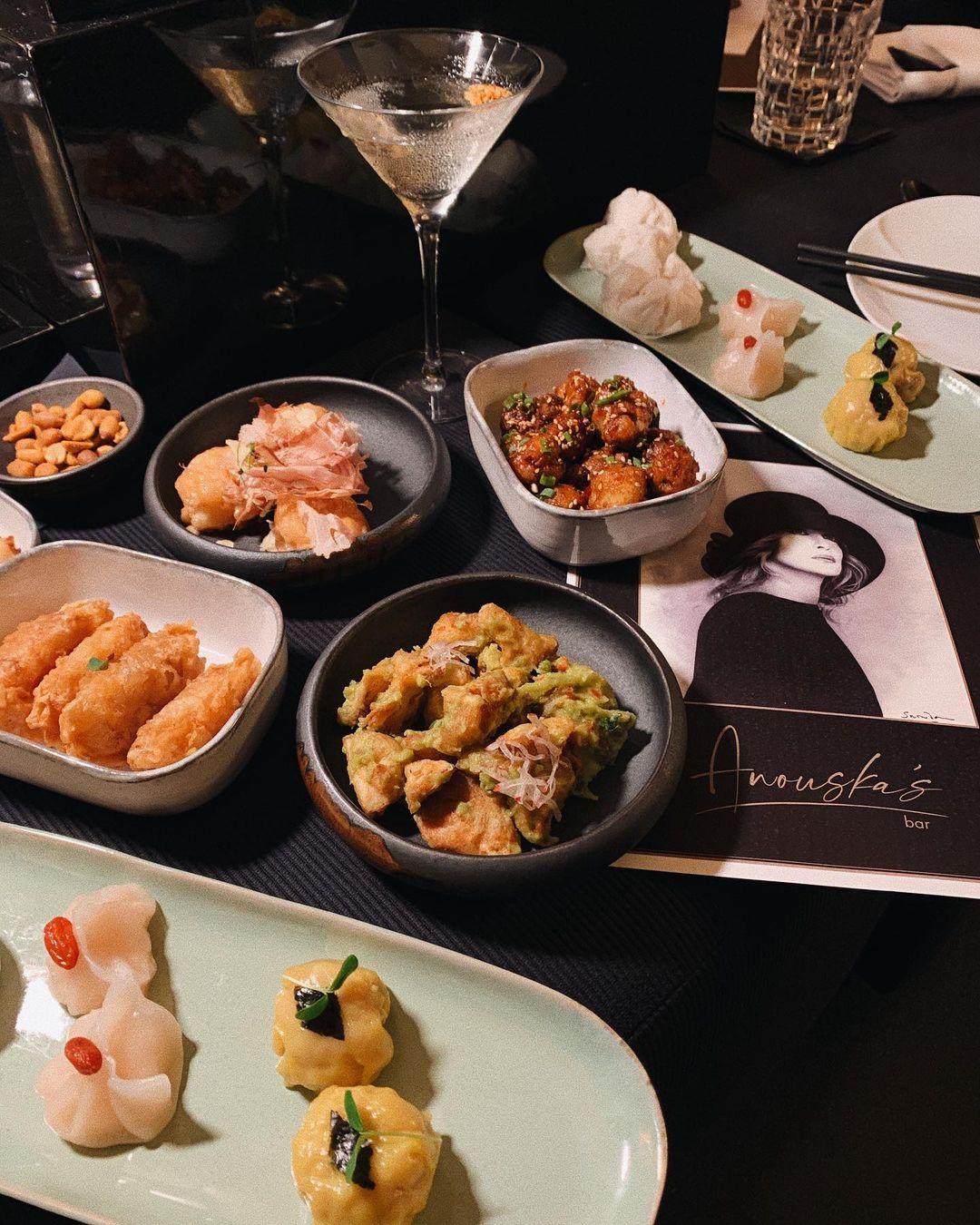 Date Ideas - Anouska's Bar Food