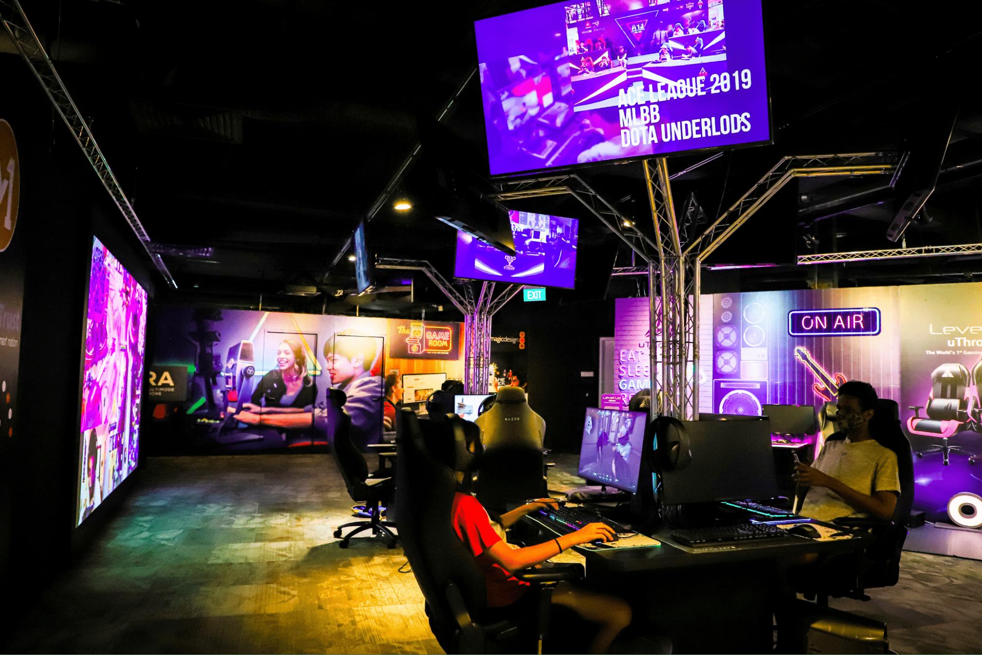 Esports experience centre - LAN