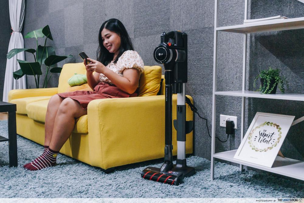 LG CordZero A9K-Ultra - Charging Stand