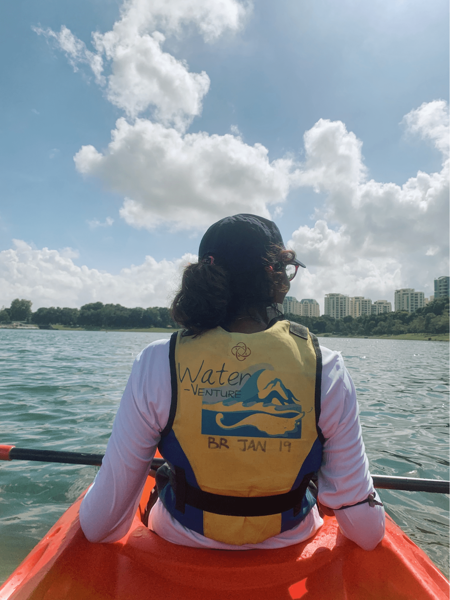 Kayaking at Bedok Reservoir