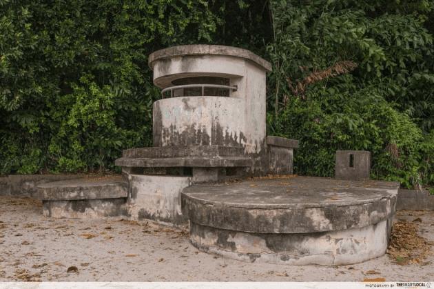 labrador park - machine gun post