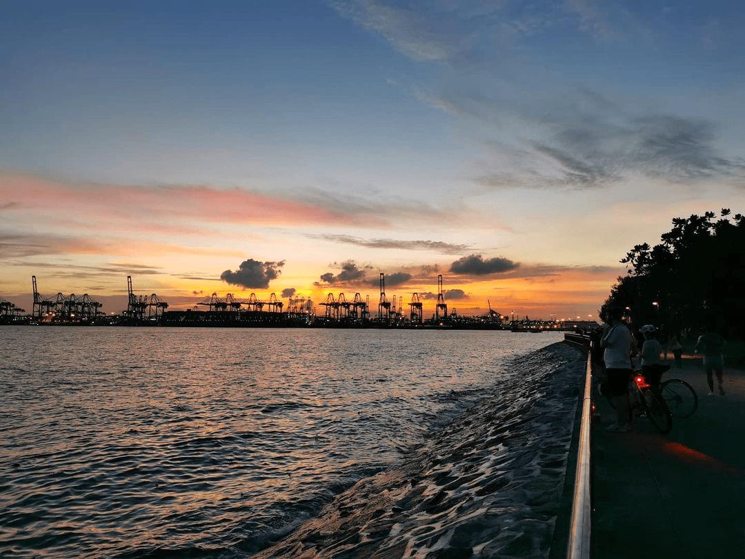 labrador park - sunset