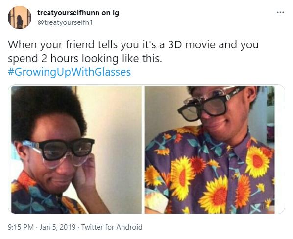 watching 3d movies meme