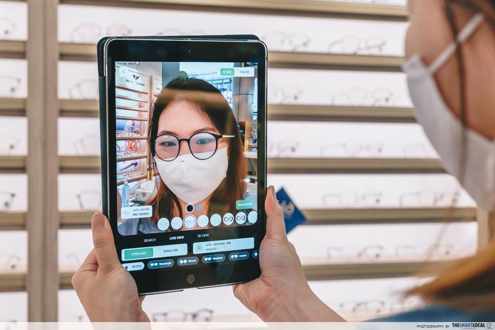 lenskart virtual 3d try-on tool