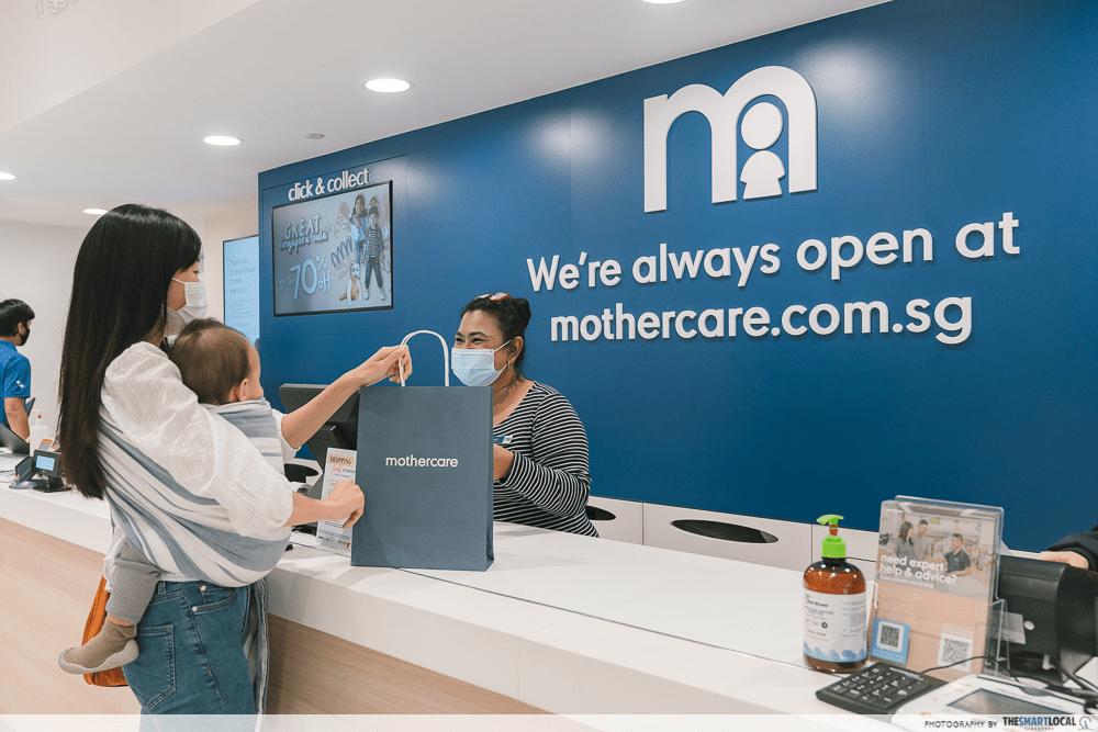 Mothercare Singapore Shopping