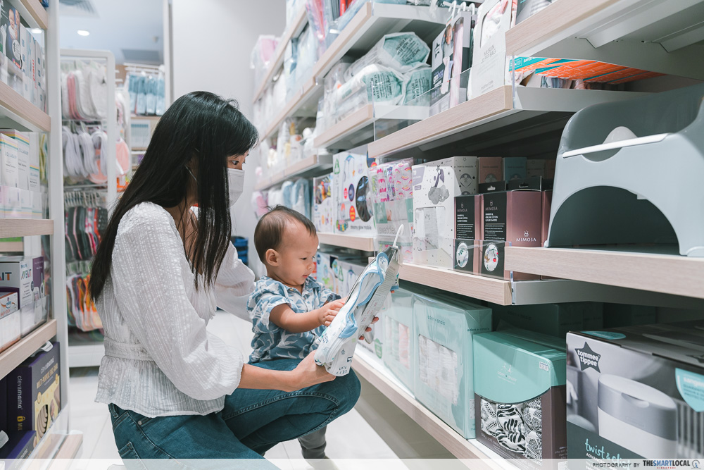 Mother Baby Shopping Singapore