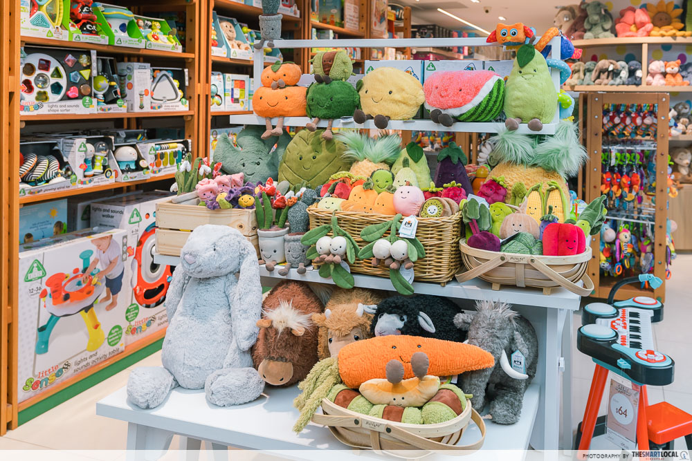 Mothercare Singapore Jellycat Plushies