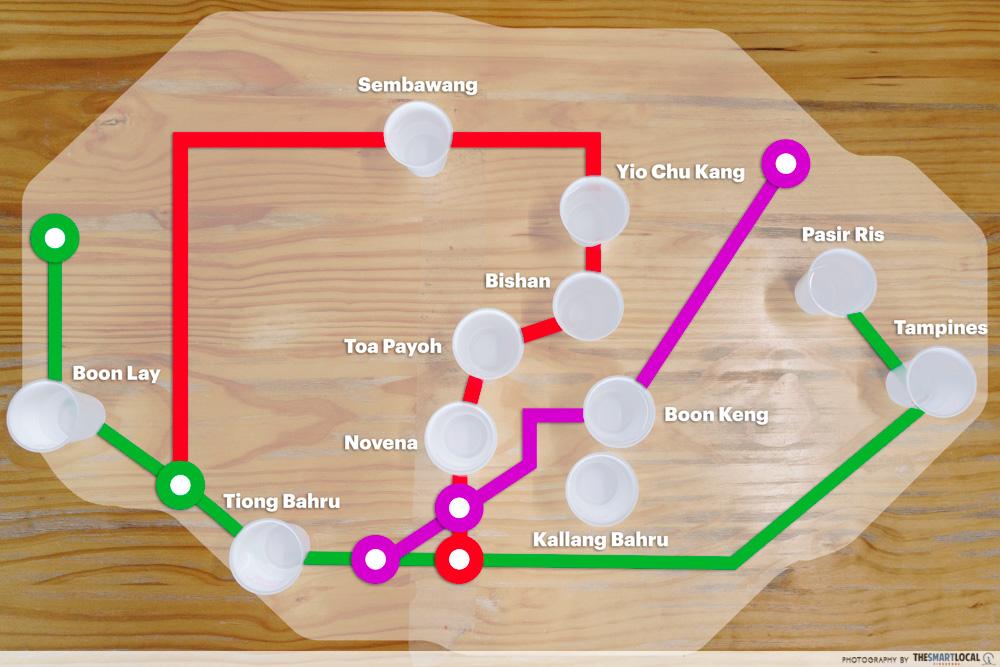 Singapore Tap Water Map