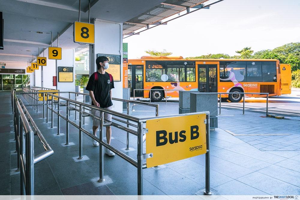 Sentosa SRV - Bus B
