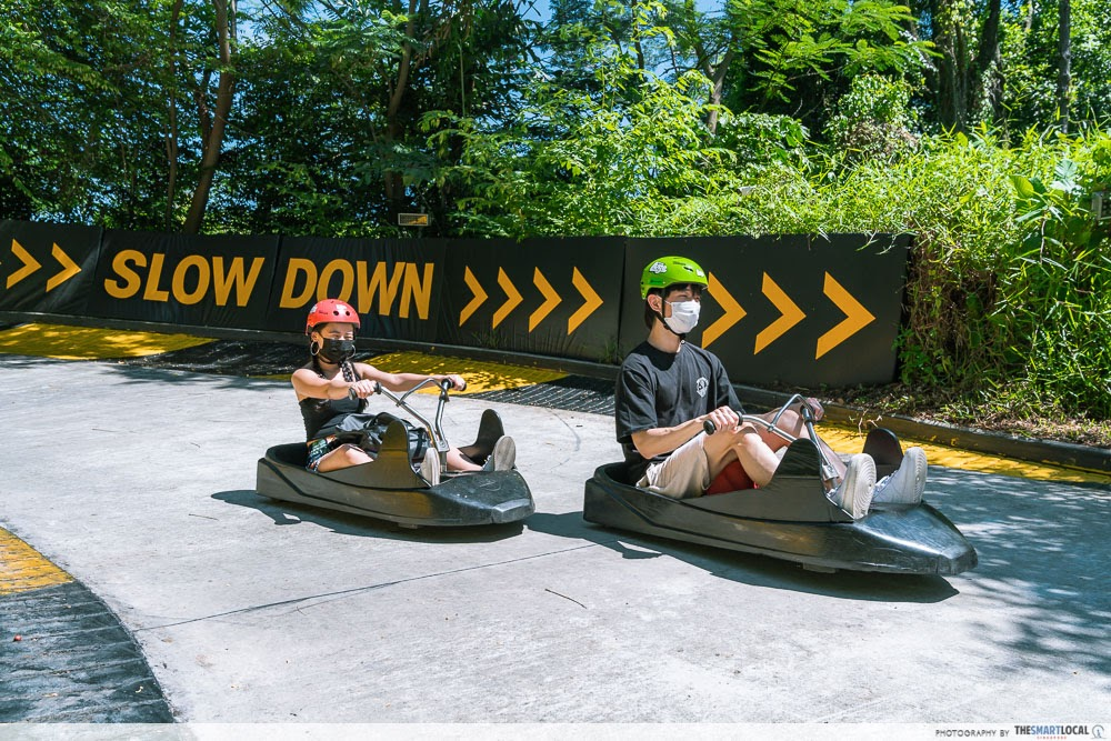 Sentosa SRV - Luge Expedition Trail