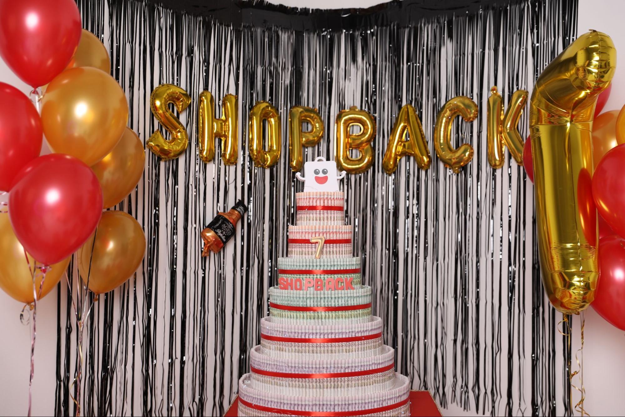 Shopback birthday sale 2021 - Birthday Cash Cake