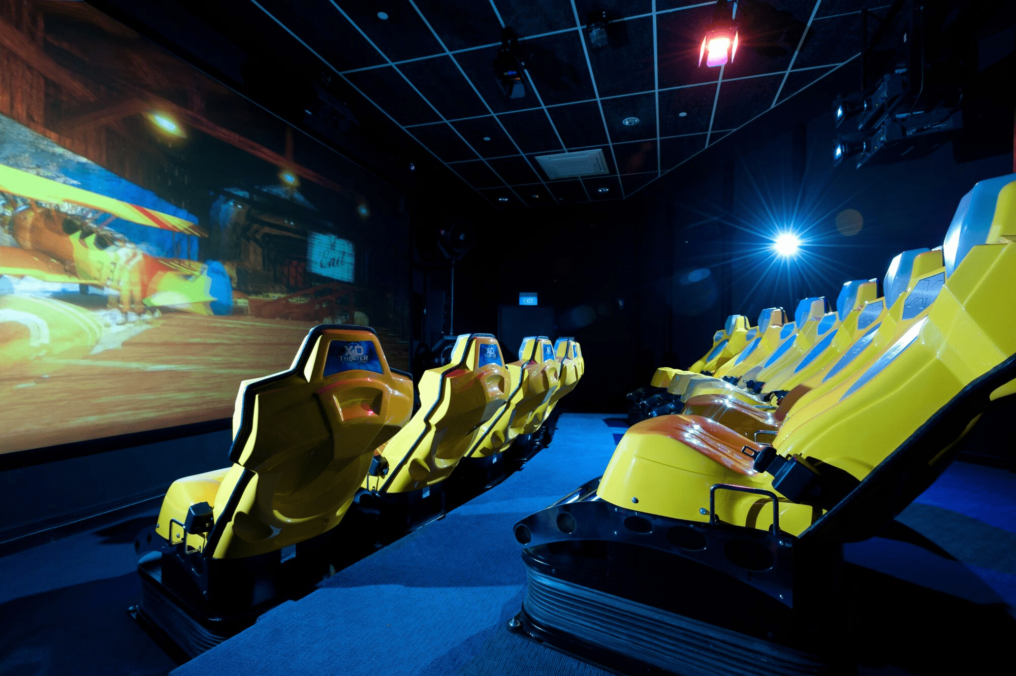 iWERKS Theatre - Largest Cinema Singapore