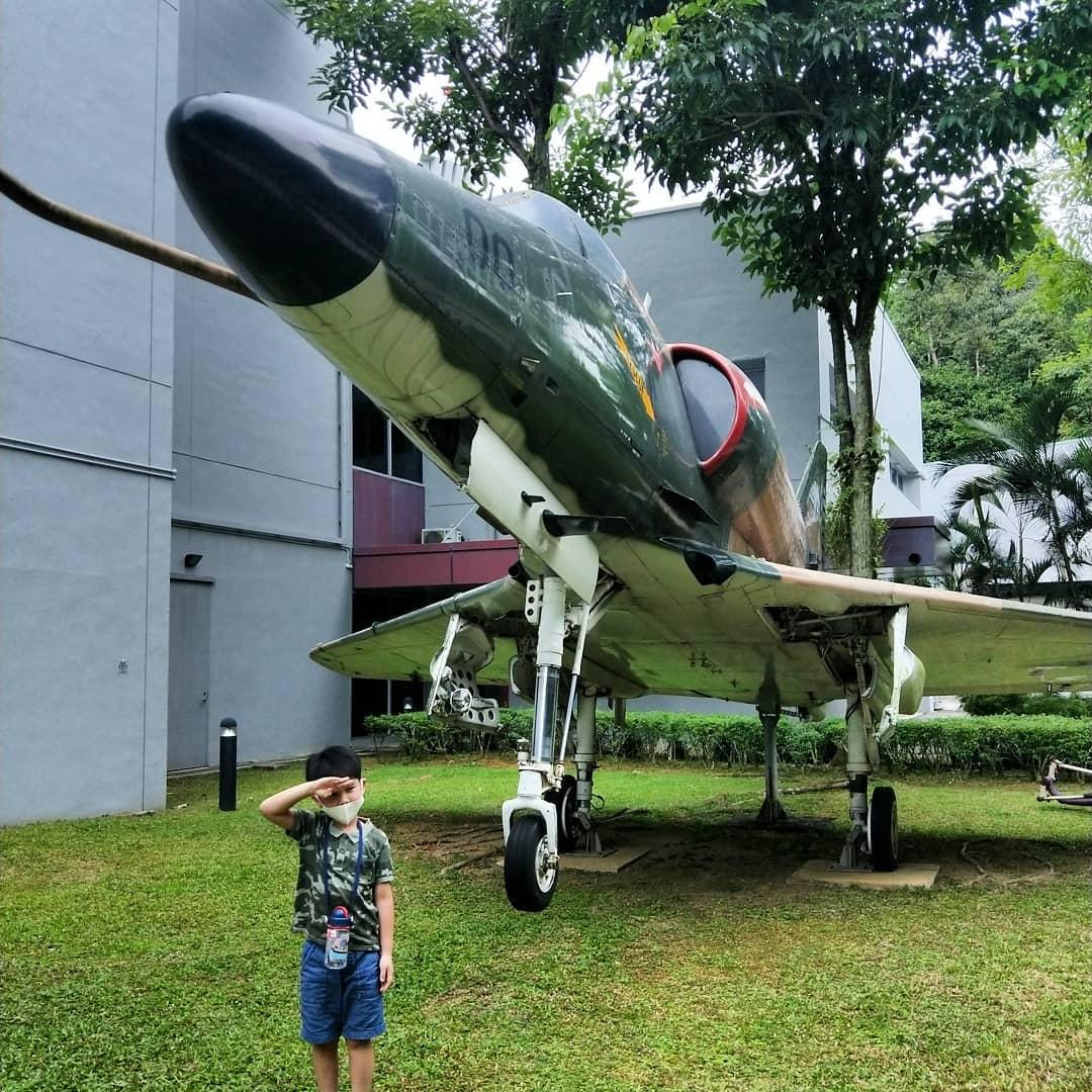 Aircraft Display Singapore- RSAF Douglas A-4S Skyhawk