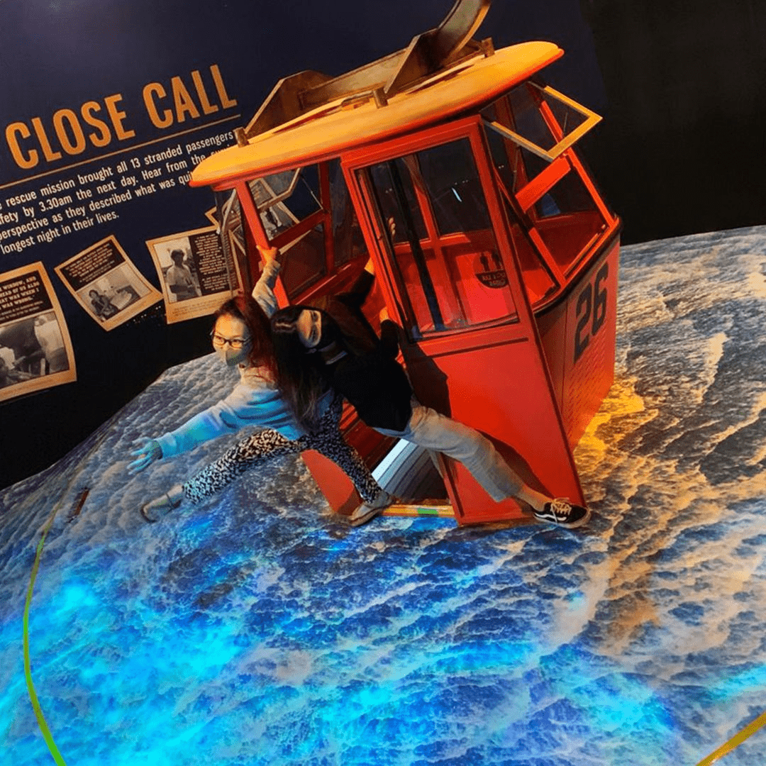 Singapore Discovery Centre - 1983 Cable Car Tragedy