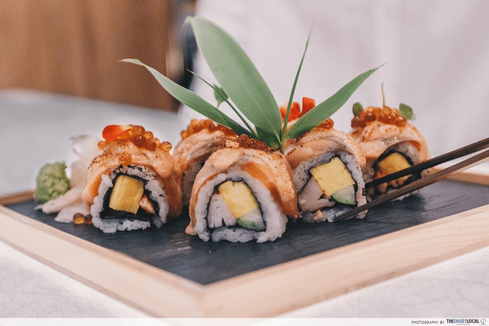 suntec flash sale - sushi