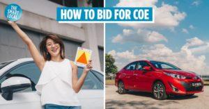 COE bidding car 2021