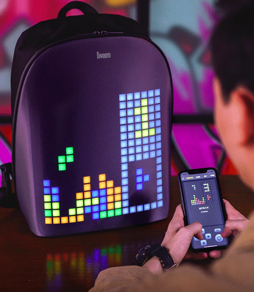 taobao maker festival - pixel backpack