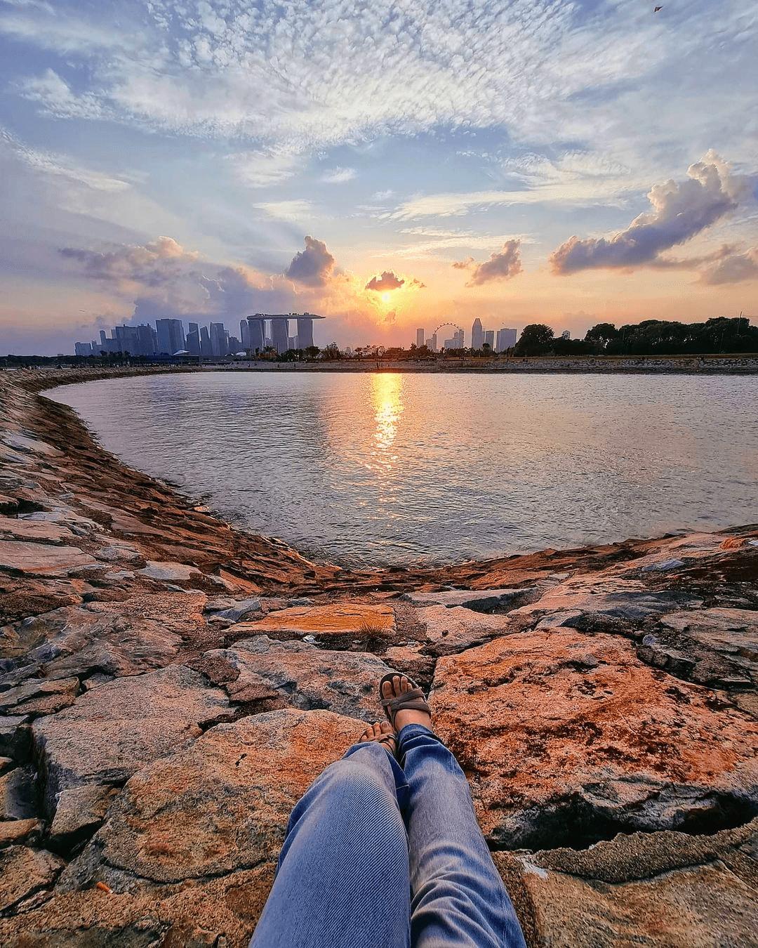 Bay East Garden - Sunset