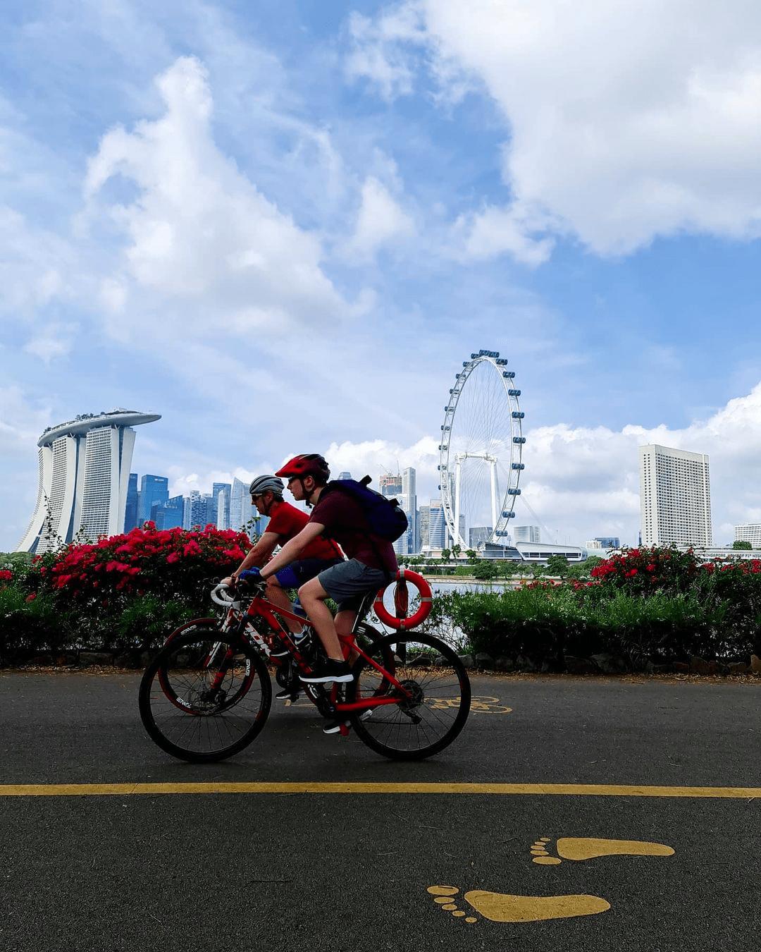 Bay East Garden - Cycling