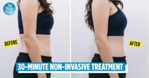 Tummy slimming treatment
