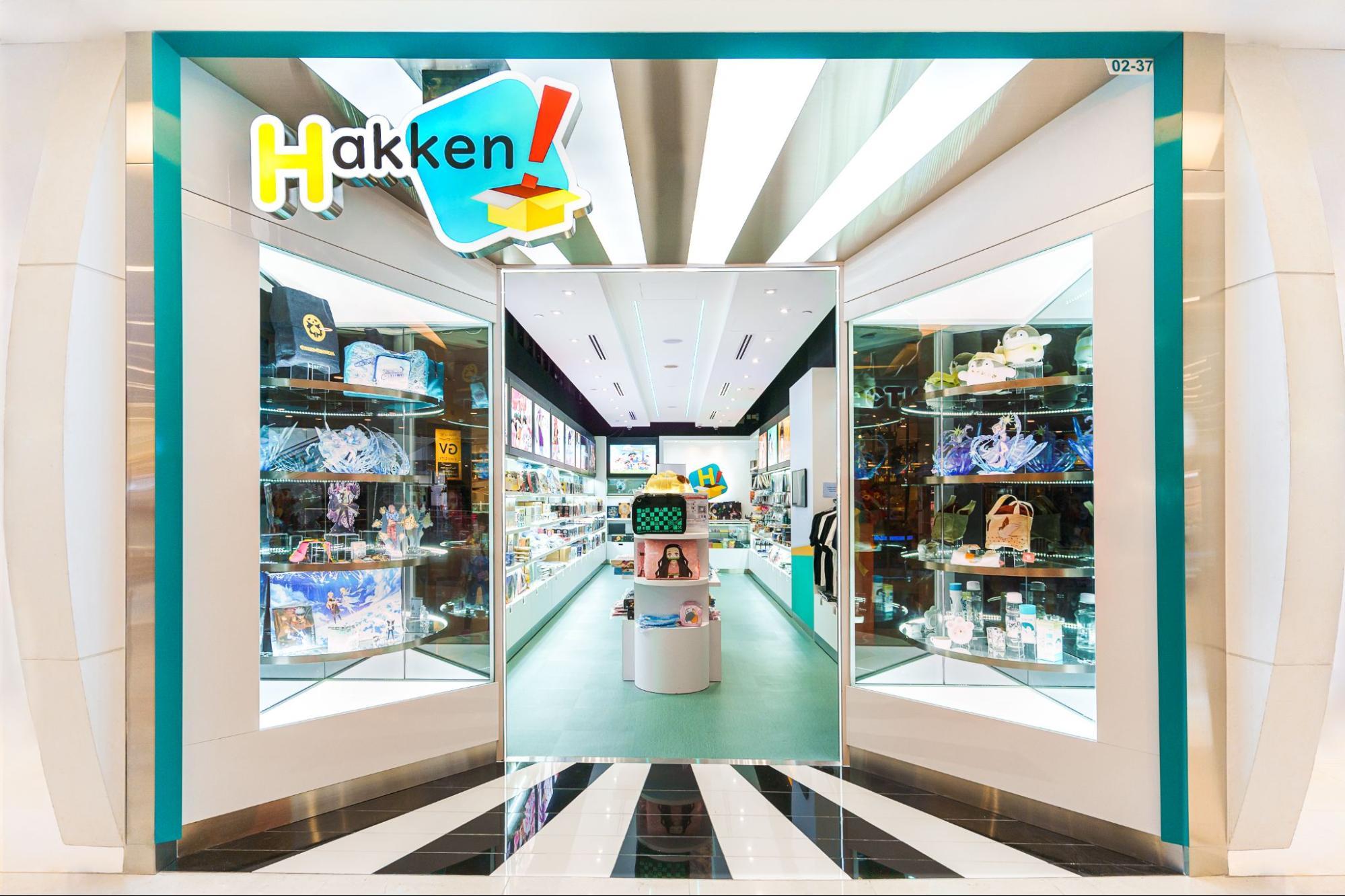 hakken vivocity - japanese anime shop singapore