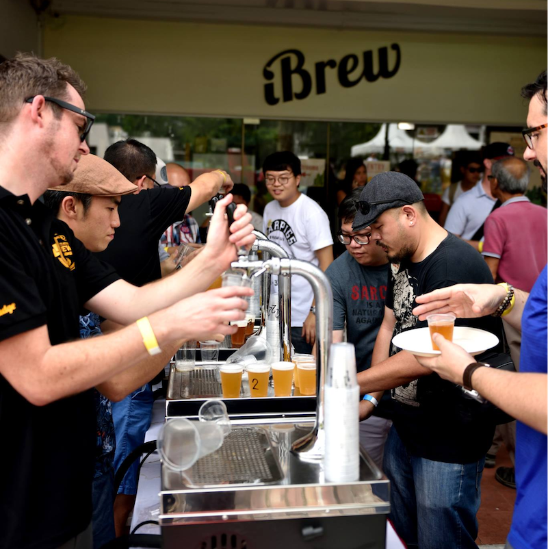 home brewing beer singapore - iBrew