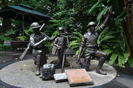 Unique sculptures in Singapore - Price of Peace