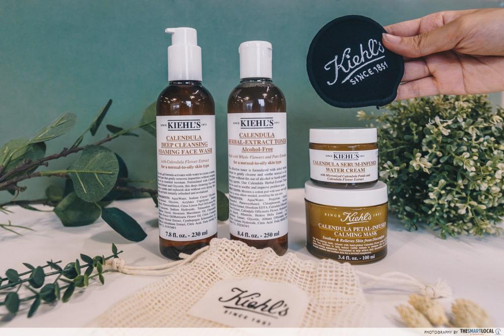 Kiehl's Calendula products