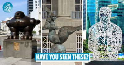Sculptures in Singapore cover image