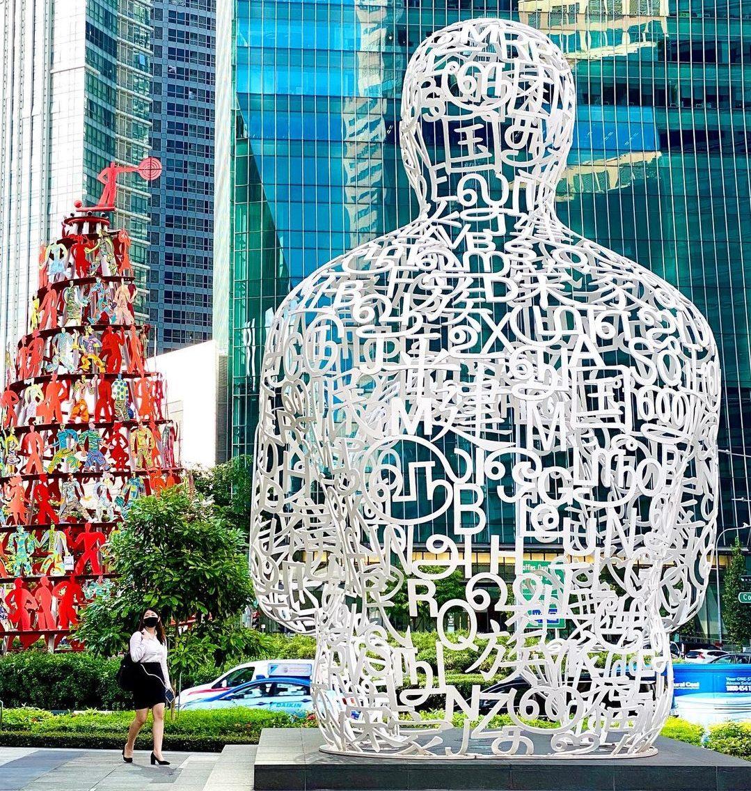 Unique sculptures in Singapore - Singapore Soul