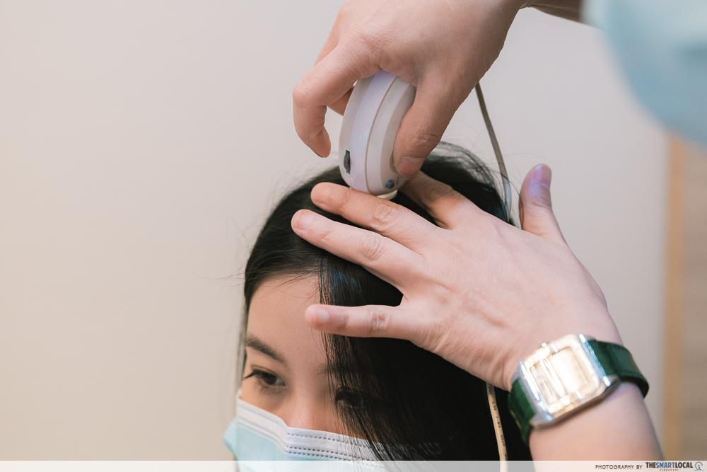 Beijing 101 computerised scalp analysis