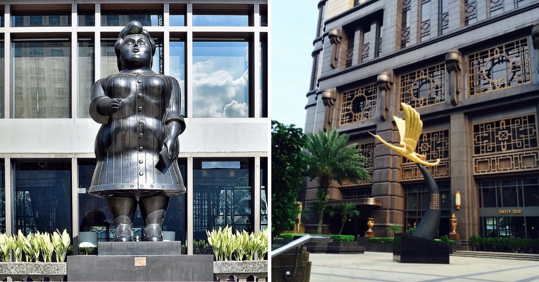 Unique sculptures in Singapore - Botero