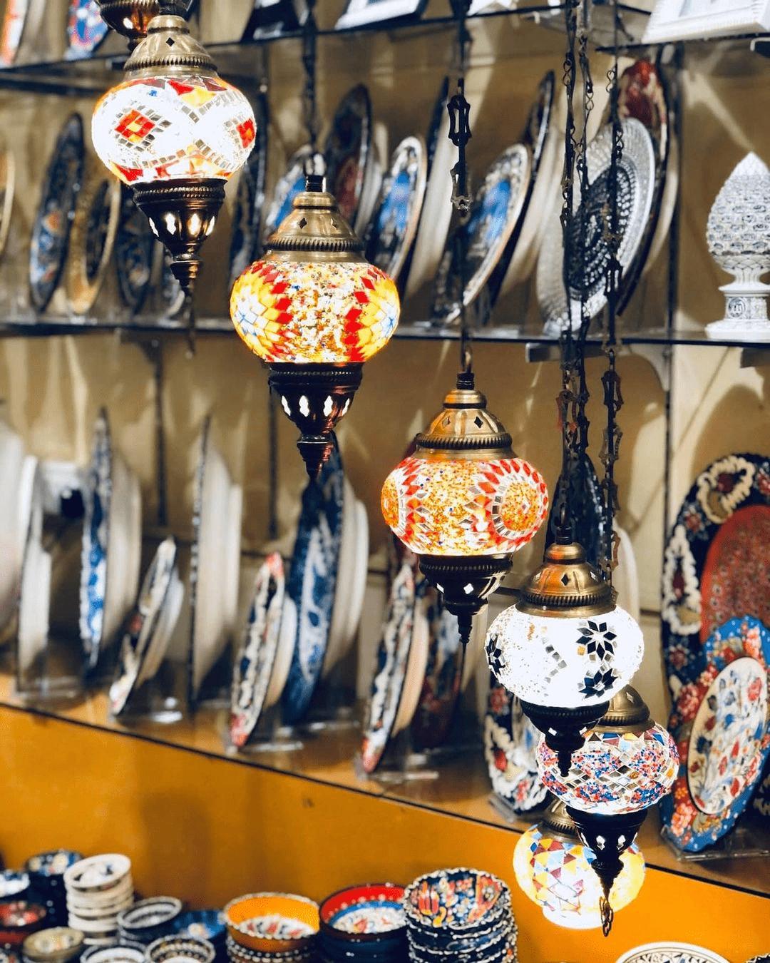 Dwiz turkish lamps