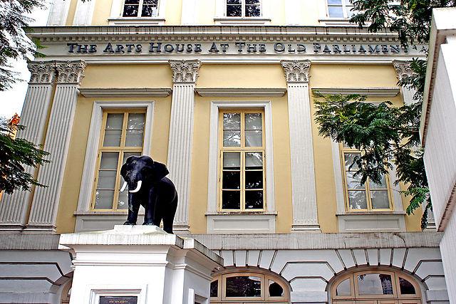 Unique sculptures in Singapore - Thai Elephant