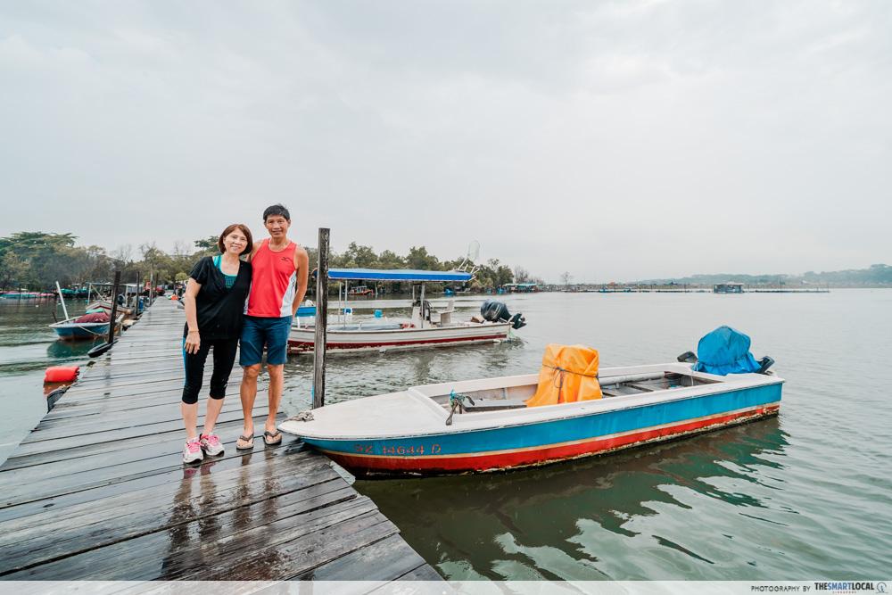 Jenal jetty - Mr & Mrs Huang