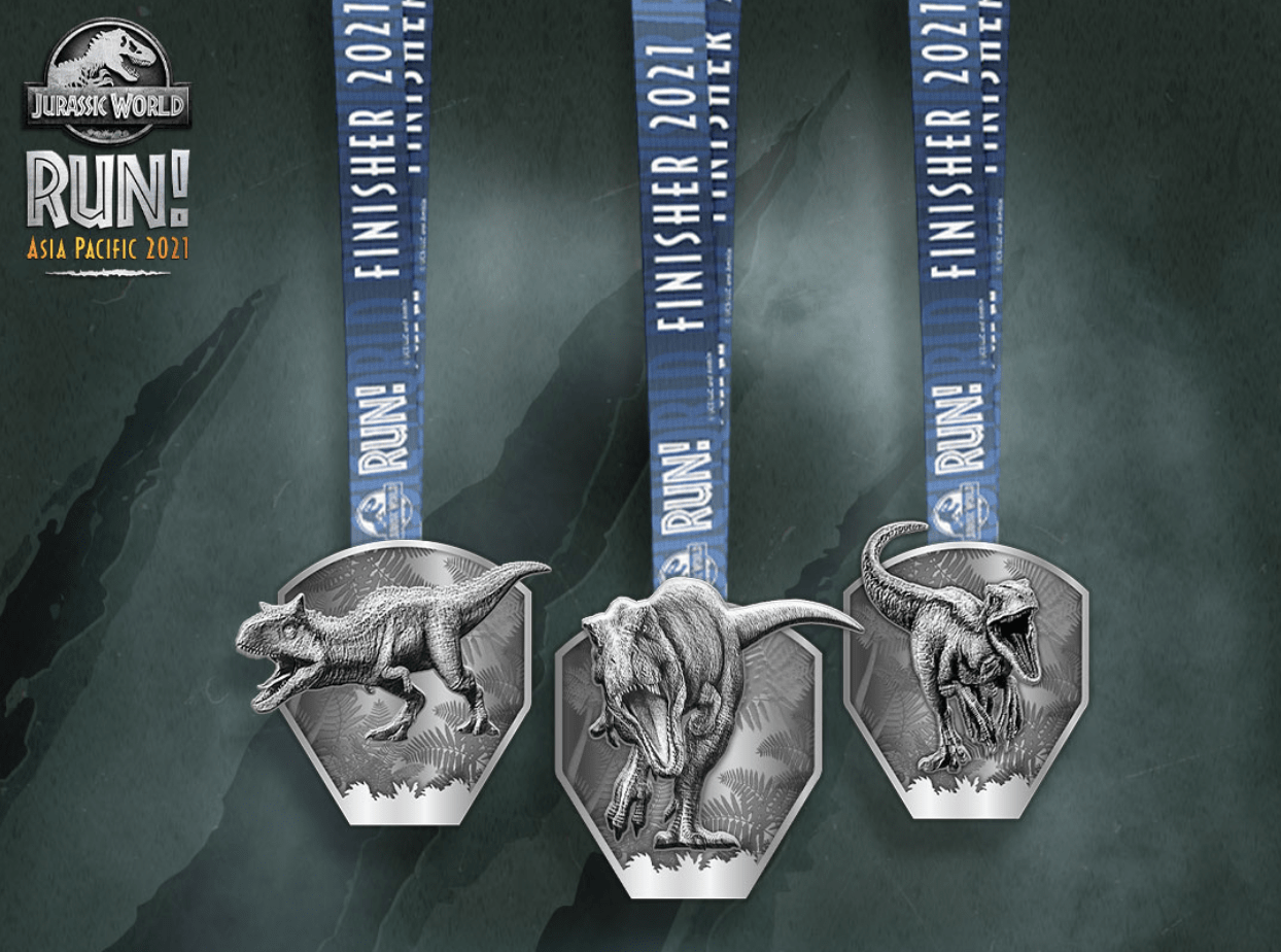 finisher T-shirts and medals