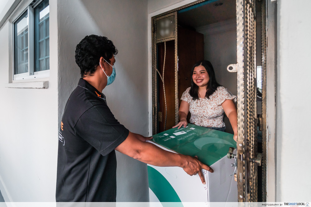 lalamove driver - doorstep delivery