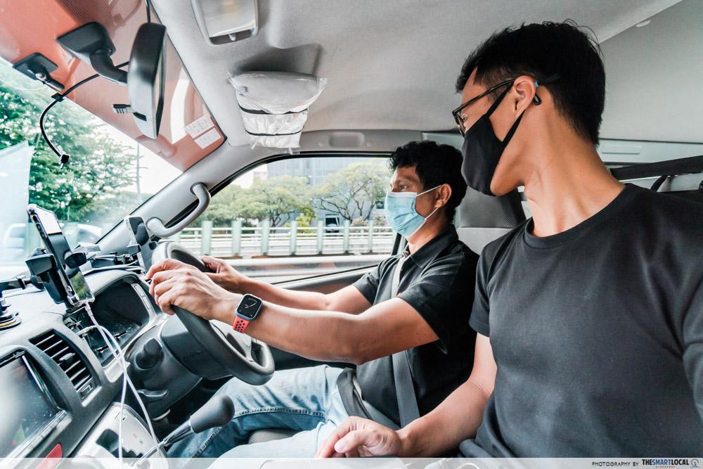 lalamove driver - driving between jobs