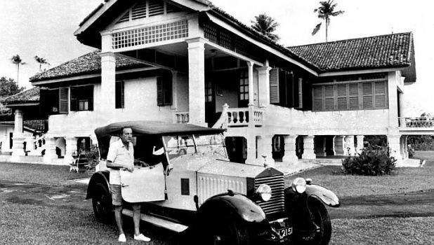 matilda house singapore - old image of the house