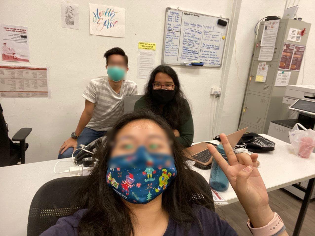 internship at healthserve singapore