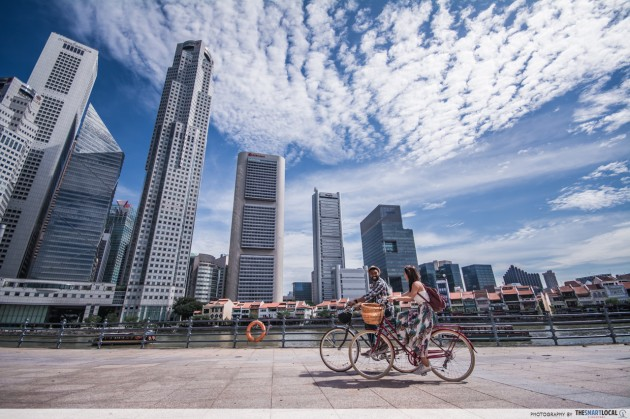 new things to do in july 2021 - GoCycling @ Marina Bay