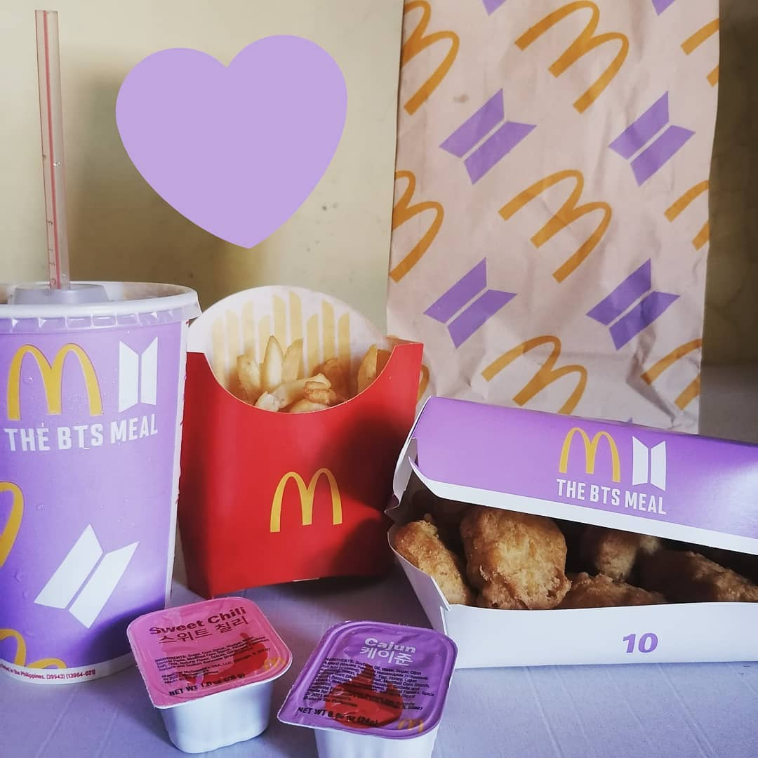 new things to do in july 2021 - McDonald's BTS