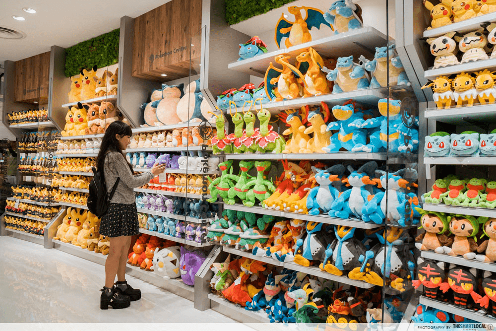pokemon centre singapore plushies