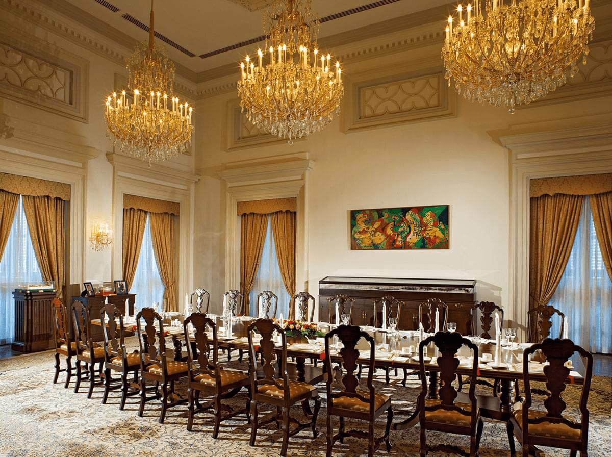 inside the istana