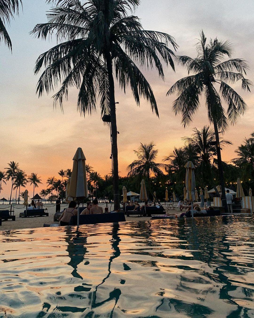 tanjong beach club - sunset